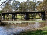 The Wannan River - high water, at Cavendish