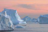 Icebergs at  Cape York, Greenland