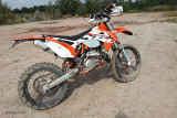 La Bestia! The mighty KTM 300 EXC