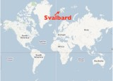Another map showing Svalbard