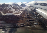 Longyearbyen from the air