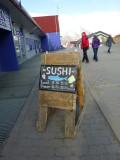 Sushi even in Longyearbyen!