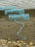 Traps for Purple Sandpiper banding