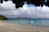 Beach from our lodge, Fiji