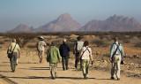 Tour group_Erongo area, Namibia