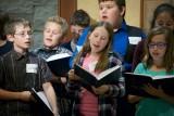 Shabbat Service February 21, 2014 -  Fifth Grade Class