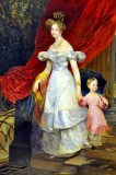 Countess Golitsyna with Dauther, Carl Brjulov