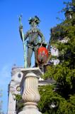 Monument to Unknown Druid in Salzburg