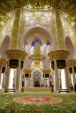 Inside Sheikh Zayed Grand Mosque