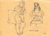 Moms Subway Drawings