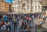 Trevi Fountain Mob
