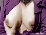 The purple dress