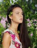 Elina Sol in the Garden