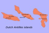 Dutch Antilles (Caribbean) islands