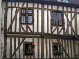 half timbered house-Chartres
