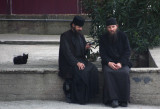 Two monks-Mt Athos-Greece