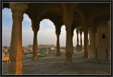 Jaisalmer. View from the Cenotaphs.