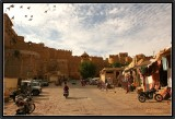 The Road to the Citadel. Jaisalmer.
