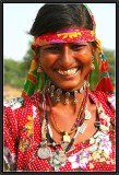 The smile of the Gypsy. Shekawati.