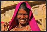 A smile in the Citadel of Jaisalmer.