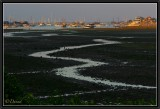 Sunset on Benoa Harbour (Low Tide).