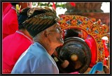 The Gamelan Player. Tanah Lot.