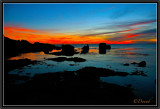 Sunset on the Bay. Pointe Trévignon.