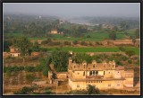 Orchha : Ruined Palaces and Deserted Temples.