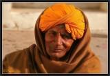 A Pilgrim. Khajuraho.
