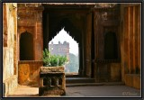 The Old Palace of Orchha.