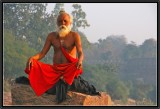 The Yogi. Orchha.