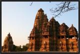 Khajuraho Temples- Sunset Light.