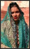 The Green Veil. Agra.