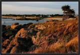 Sunset light on Cornouaille's Coast.