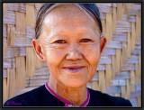 Portrait of a Lanten. Ban Nam Leu. Luang Namtha.
