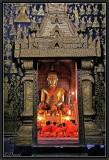 The Night Prayer. Wat Xien Thong. Luang Prabang.