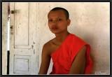 Portrait of a Novice. Luang Prabang.