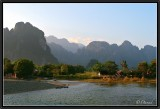 The Song of Nam Song (River Song. Vang Vieng).