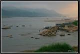 A Misty Dawn on Mekong.