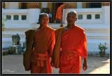 Two novices. Luang Prabang.