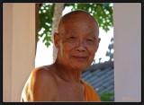 The Superior of Khili Monastery. Luang Prabang.