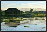 Inle Lake. Afternoon Light.