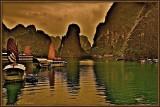 Monsoon. Vinh Ha Long.