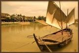 Thu Bon River. Hoi Han.