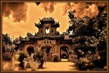A Chinese Temple. Hoi Han.
