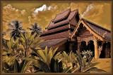 Vat Mahathat. Luang Prabang.