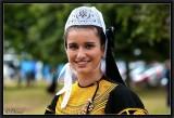 Sourire et Costume du Pays Bigouden.