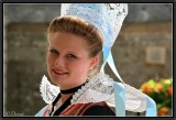 A Young Lady Wearing Headgear from Pont-Aven.