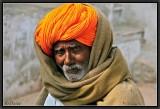 The Man with the Orange Turban.