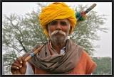 A Sheperd on the Road to Bundi.